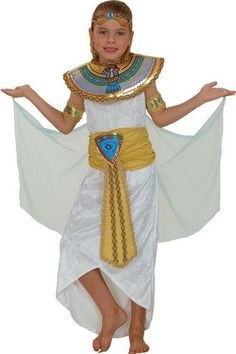 egyptian kids costumes headpiece cleopatra or pharoah egypt childs fancy dress - Egyptian Halloween Costumes For Kids
