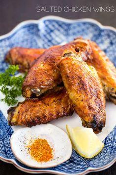 Japanese Salted Chicken Wings (Teba Shio) | Easy Japanese Recipes at JustOneCookbook.com