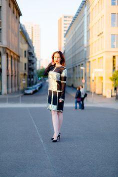 GLAW Fashion Minikleid - Mirror - Fashionblog Berlin - Mirror-Studdled Silk Dress - Modebloggerin - Fashion-Outfit - Lookbook - OOTD - Christian Louboutin High Heels - Berliner Dom