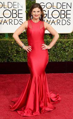 Kristin Dos Santos from 2015 Golden Globes Red Carpet Arrivals