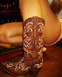 Cute Girly Cowboy Boots