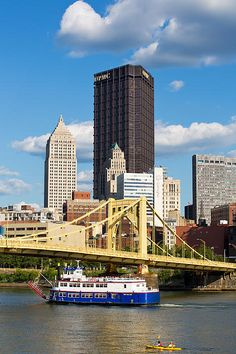 Allegheny Riverfront Photograph.Pittsburgh Pa