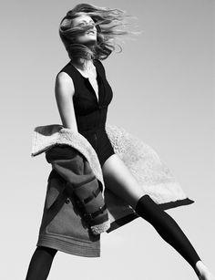 Constance Jablonski by Greg Kadel for Vogue Germany