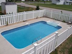 Check out the deal on 18' x 36' Rectangle Swimming Pool Kit with 42