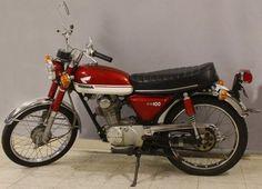 1971 Honda CB100 Motorcycle