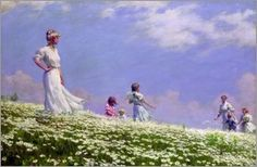 Charles Courtney Curran - Sommer