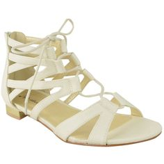 Fashion Thirsty Womens Lace Up Flat Sandals Ankle Strappy Cut Out Summer Gladiator Size * Continue to the product at the image link.