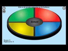 Simon geheugentrainer - YouTube
