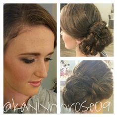 #updo #makeup #faerieorganics  Www.styleseat.com/kaylynnhosch
