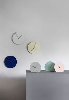Steel Clocks by Norm Architects