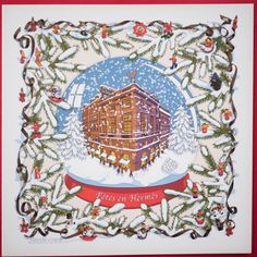 Exclusive Edition Hermes Noel AU 24 Faubourg Winter Holiday Card Rybaltchenko | eBay