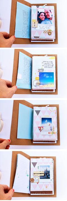 Off We Go: Instax Mini Album -- SO beautiful! Love love love