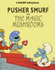 #SmurfAdventures #MagicMushrooms #Smurfs #Trippy #PsychedeliaAdventures