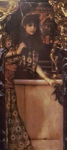"Gustav Klimt: Antichità greca ll ""Glicine"" (1890-91) olio su base stucco 230x80"