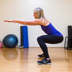 Back to Basics: Squats  To get the most benefit they should be done correctly!