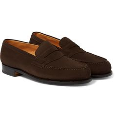 Weston - 180 The Moccasin Suede Loafers Suede Loafers, Loafer Shoes, Loafers Men, Mens Fashion Shoes, Men S Shoes, Men's Fashion, Formal Shoes, Casual Shoes, Casual Outfits