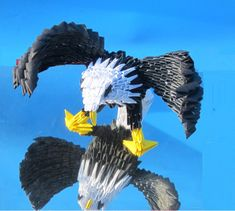 origami Majestic eagle