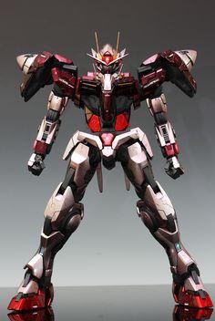 PG Gundam 00 Raiser: Custom Paint in Trans-Am Mode w/remodeling: No.19