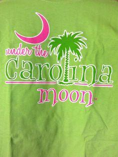 Carolina Moon free shirt I got for ordering (front) Palmetto Moon, Palmetto State, South Carolina, My Style, Shirt, Free, Products, Dress Shirt, Shirts