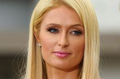 """Paris Hilton visits """"Extra"""" at The Grove on May 2, 2012 in Los Angeles, California"""