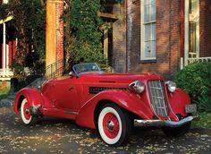1937 Packard Twelve Victoria Convertible - (Packard Motor Car Company Detroit, Michigan It sure looks like an Auburn Maserati, Bugatti, Retro Cars, Vintage Cars, Antique Cars, Ford Motor Company, Auburn Car, Classy Cars, Sweet Cars
