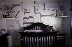 Cute idea for a nursery.