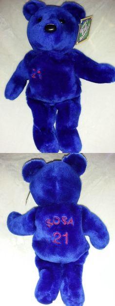 Bammers Bamm Beanos 1522: Salvino S Big Bammers Sammy Sosa #21 Issue 1999 Plush Teddy Bear 15 -> BUY IT NOW ONLY: $44.2 on eBay!
