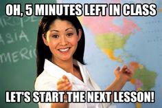 I hate when teachers do this