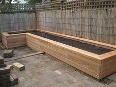 plantenbak tuin