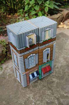 Casa cartón