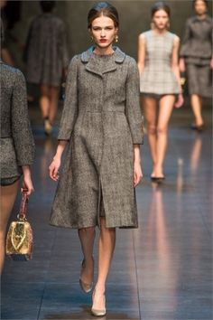 Dolce & Gabbana, cappotto in tweed