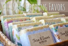 Homemade wedding favor ideas cute favors with melt and pour soap crochet river rocks diy candy . Diy Soap Wedding Favors, Party Favors, Wedding Favours Luxury, Vintage Wedding Favors, Winter Wedding Favors, Wedding Crafts, Diy Wedding, Wedding Ideas, Wedding Album