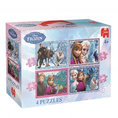 Disney Frozen Puzzel 4in1