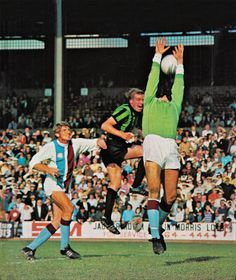 Coventry City, Crystal Palace, Goal, October, Football, Park, Retro, Celebrities, Soccer