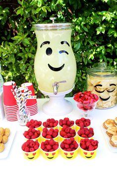 Emoji Birthday Party By Bloom Designs