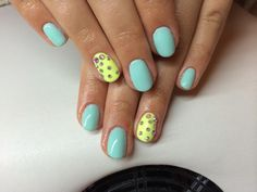 #summer #nails #neon #colourful #strass #bright #simple #but #nice