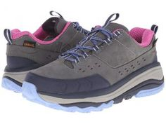 Hoka One One Tor Summit WP (Steel Grey/Hydrangea) Women's Running Shoes