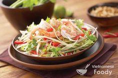 Vietnamese Green Papaya Salad (Goi Du Du) - Vietnamese Foody