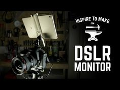 DSLR Monitor from Android Tablet with DIY Tablet mount. - YouTube