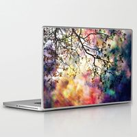 "13"" Macbook Pro/Air Laptop Skins featuring the Tree of Many Colors by Caleb Troy"