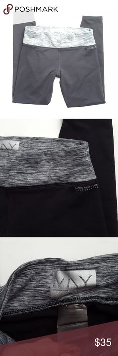 Marc New York workout leggings -C3 Marc New York leggings, size small. Cropped style (26 inch inseam). Hidden pocket in waist band.  Used item, pictures show any signs of wear or use. Bundle up! Offers are always welcome.  :)  Shop my husband's closet!: @kirchingeraaron Marc Ney York Pants