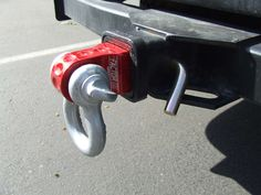 This HitchLink from Factor 55 allows you to use your receiver as a recovery tow point. Easily attaches to your factory receiver tow point. Fj Cruiser Accessories, Offroad Accessories, Truck Accessories, Tacoma Accessories, Extreme 4x4, Bolt Lock, Receiver Hitch, Car Insurance Rates, Truck Interior