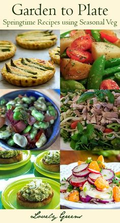 Springtime Garden to Plate Recipes - Make the most of seasonal veg with these delicious recipe ideas from the Garden Charmers healthyrecipes Healthy Eating Recipes, Vegetable Recipes, Whole Food Recipes, Vegetarian Recipes, Cooking Recipes, Dessert Recipes, Healthy Eats, Free Recipes, Fresco