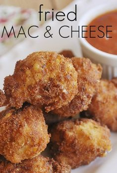 Fried Food Fanatic... Fried Mac & Cheese (1) From: I Heart Naptime, please visit