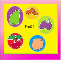 Fruit --Delicious, colourful, juicy, healthy and sweet. In the theme Fruit, you will find 47 pages of real fun working sheets. If your child does not like fruit, or he simply loves to eat it- you will still find this theme to be really inspiring and a great to opportunity to gain more knowledge about everything he needs to know about the fruit family etc.