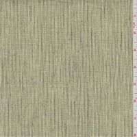 Sage Check Linen