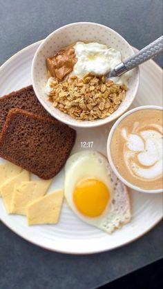 Think Food, I Love Food, Good Food, Yummy Food, Comidas Fitness, Food Is Fuel, Food Goals, Cafe Food, Morning Food