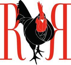 Red Rosster T-Shirt Logo