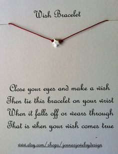 Wish Upon A Star,  Sterling Silver, Friendship Bracelet, Charm Bracelet, Wish Bracelet