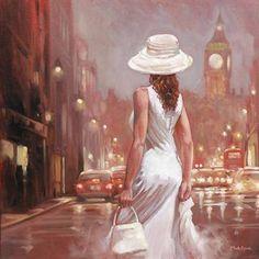 """""""Towards Big Ben"""" by Mark Spain"""